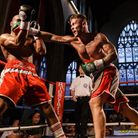 Billy Bird, right, now fights for the English title in Brentwood on September 21. Picture: MARK HEWL