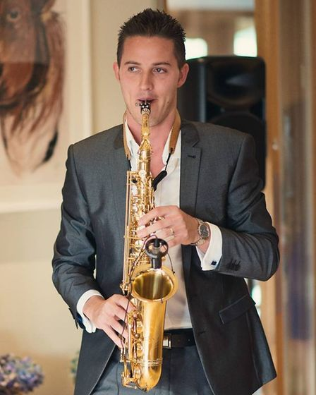 Saxophonist David Walker entertained guests at the wedding of rugby star Danny Care, with British ro