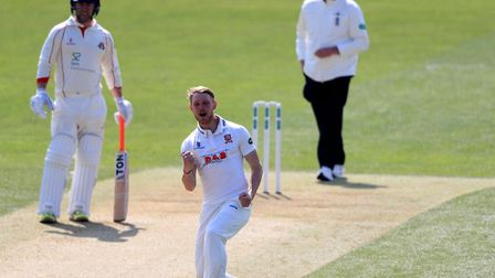 Essex's Jamie Porter , who took four wickets against Nottinghamshire
