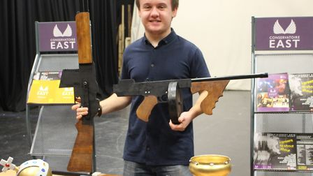 James Hopwood, 20, who scooped a national award at a creative festival Picture: GOODERHAM PR