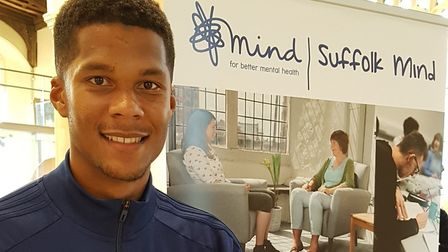 Ipswich Town right-back Jordan Spence spoke about the importance of mental health awareness at the S