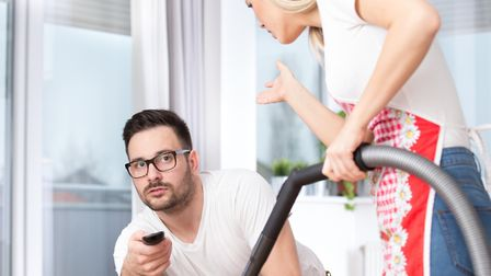 """""""Hope I'm not interrupting your viewing, darling,"""" Picture: Getty Images/iStockphoto"""