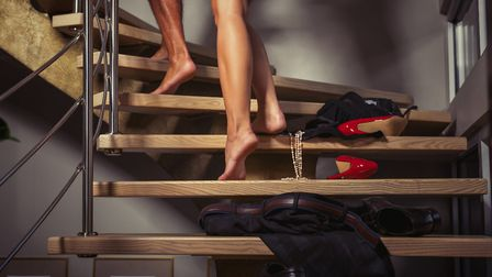 Why not a mutual foot massage. Picture: Getty Images/iStockphoto