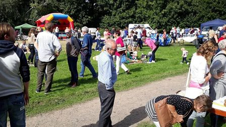 The fete attracted more than 500 people Picture: BALLINGDON FETE COMMITTEE