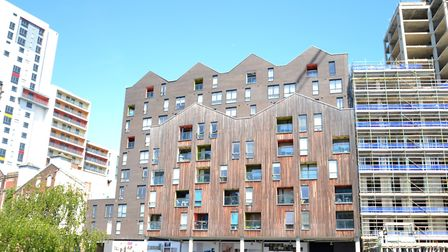 A duplex apartment on the Ipswich Waterfront, available from Fenn Wright with a guide price of �285,