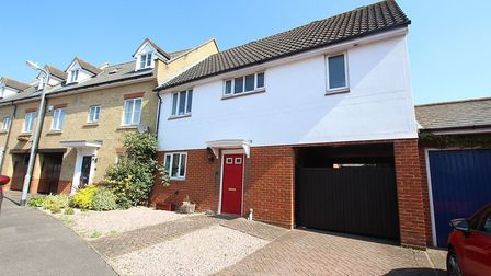 This property in Oxley Parker Drive, Colchester, is on the market with David Martin Group. Picture: