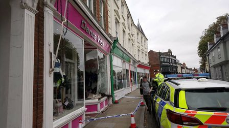 Police and ambulance were called to the scene on Fore Street, near to the Ipswich Waterfront Picture