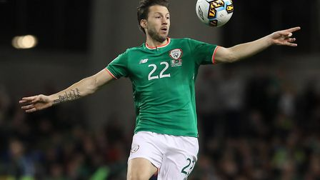 Harry Arter is not with the Ireland squad during this international break. Picture: PA