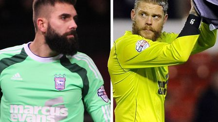 There was little to choose between Bialkowski and Gerken during their early days at Portman Road. Pi
