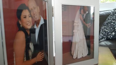 The couple married in 2011 Picture: RACHEL EDGE