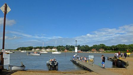 Felixstowe Ferry is hosting Ferry Fest Picture: STEPHEN SQUIRRELL