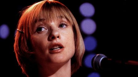 Jane Horrocks as the timid girl with an amazing vocal talent in Little Voice. Photo: Miramax