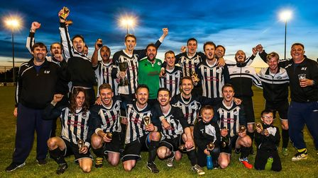 Benhall St Mary have made a perfect start to their SIL Senior Division campaign. Picture: STEVE WALL