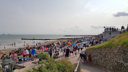 As many as 250,000 people are expected to attend over the two days Picture: RACHEL EDGE