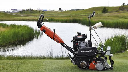 Jacobsen turf equipment to be used to cut grass at the Ryder Cup. Picture: Ransomes Jacobsen