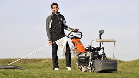Alejandro Reyes, the golf courses and estate manager at Le Golf National in Paris, host of the 2018