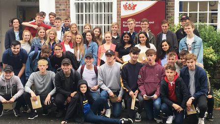 76% of students at King Edward VI School in Bury St Edmunds achieved a 4 or better in English and Ma