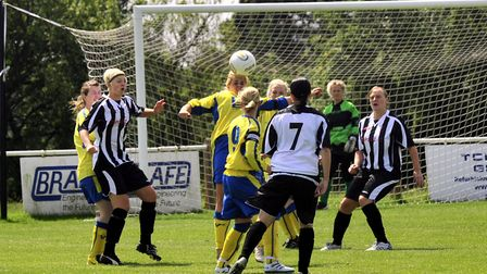 A previous memorial football match to remember Sian Ryan. Picture: ARCHANT LIBRARY