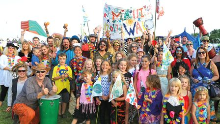 The Kids Group at last year's Maui Waui Festival Picture: JERRY TYE