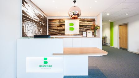 Basepoint Ipswich offices. Picture: MX2 Interiors