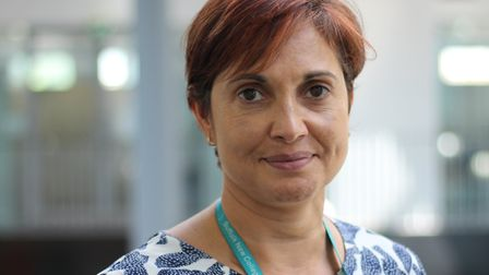 Deputy director of Suffolk College on the Coast, Julie Patel Picture: SUFFOLK NEW COLLEGE
