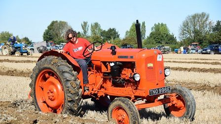 Katie Boardman taking part in Ongar Ploughing Match at Ongar Picture: HELEN MCTURK