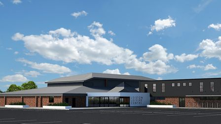 How the revamped Leiston Leisure Centre will look after the modernisation. Picture: SUFFOLK COASTAL