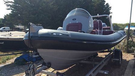 Police are appealing for witnesses in relation to the theft of this boat in Southwold Picture: SUFFO