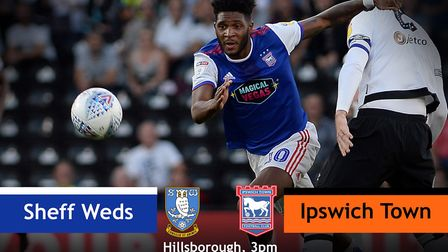 Ipswich Town take on Sheffield Wednesday this afternoon