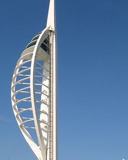 The Spinnaker Tower in Portsmouth. Picture: TREVOR ROOT