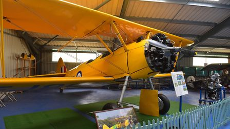 The restored Boeing Stearman at Flixton Aviation Museum. Picture: NICK BUTCHER