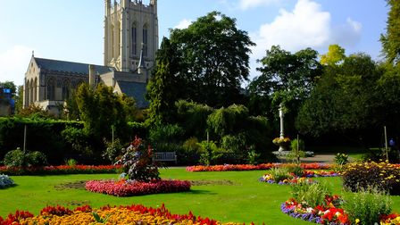 The Abbey Gardens in Bury St Edmunds. Picture: LEE ACKERS