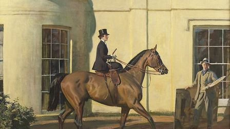 My Wife My Horse and Myself by Sir Alfred Munnings.