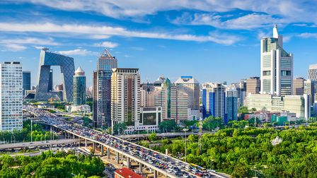 Beijing, China cityscape at the CBD Picture: GETTY IMAGES