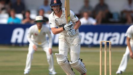 Tom Westley joined forces with Nick Browne to give Essex a chance of an upset win at Somerset. Pictu