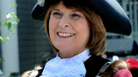 Margaret Marks, the current mayor of St Edmundsbury. Picture: ANDY ABBOTT