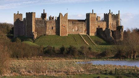 Framlingham Castle, which featured in the famous Ed Sheeran song 'Castle on the Hill' Picture: ADAM