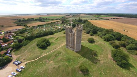 A view of Orford Castle in Suffolk Picture: DAVID MORTIMER
