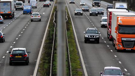 Part of the M25 in Essex is closed Picture: RUI VIERA/PA WIRE