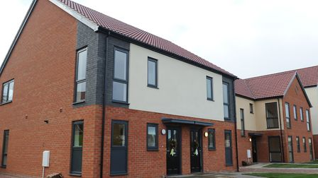 Some new council houses have been built in Ipswich - but nowhere near enough. Picture: SARAH LUCY BR
