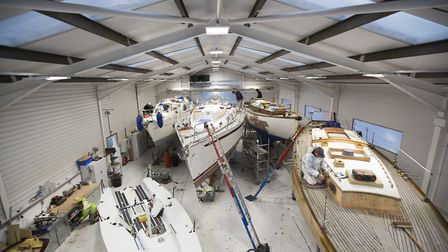 Suffolk Yacht Harbour workshop. Picture: Emily Harris