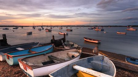 Felixstowe Ferry, an image taken from Justin Minns exhibition wqhich forms part of Ferry Fest Photo: