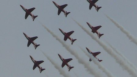 Spectacular action from last year's Clacton Airshow. Picture: TDC