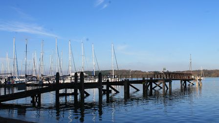 Woolverstone Marina on the River Orwell Picture: LISA-MARIE MAGOR
