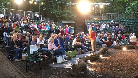 Audiences settle in for Red Chain's Much Ado About Nothing Picture: WAYNE SAVAGE