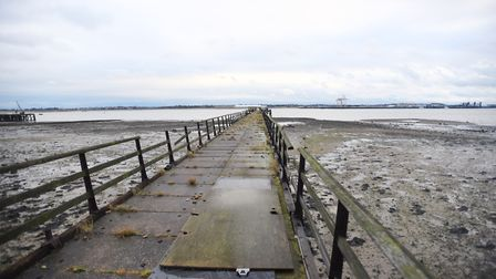 The recommendation of approval of the Shotley Pier revamp was refused by councillors. Picture: GREGG