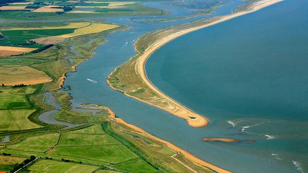 Suffolk's isolated coastline, pictured here, is said to be vulnerable to smugglers Picture: MIKE PAG
