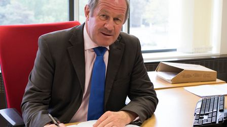 Suffolk Police and Crime Commissioner Tim Passmore is calling for more funding Picture: SUFFOLK PCC