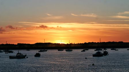 The Suffolk coast is a popular destination for pleasure cruisers from around the world Picture: JULI