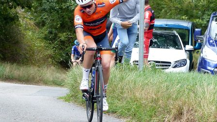 George Wood – from Canvey Island – takes the Regional Road Race Championship. Picture: FERGUS MUIR